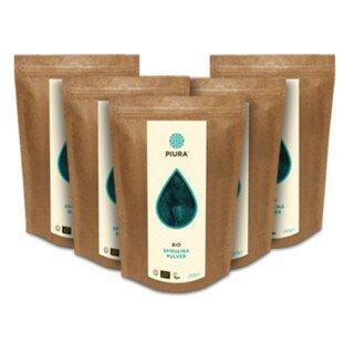 Poudre de spiruline Bio PIURA  5 x 250 g/
