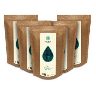 Spirulina Powder organic Piura - 5 x 250 g/