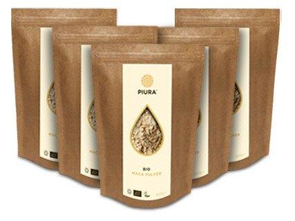 Maca Powder Organic Piura - 5 x 300 g/