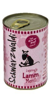 Schwarzwaldi Liebling's Lamm Menu - 400 g - Repas pour chien à l'agneau/