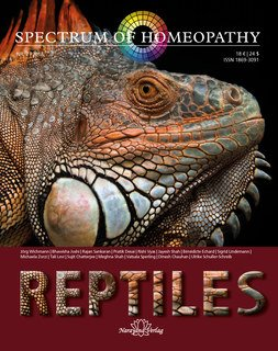 Spectrum of Homeopathy 2018-2, Reptiles/Narayana Verlag