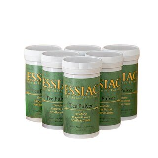 Essiac Tee Kräuterpulver - 6 x 56,5 g/