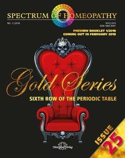 Spectrum of Homeopathy 2018-1, Gold Series - E-Book, Narayana Verlag