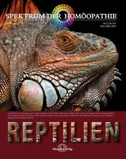Spektrum der Homöopathie 2018-1, Reptilien/Narayana Verlag