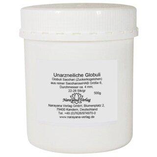 Sucrose pillules, unmedicated, size No.6 - 500 g/Narayana Verlag