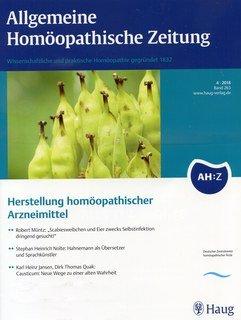 AHZ 2018/4 Materia Medica/AHZ