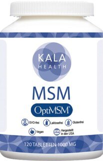 OptiMSM® Tabletten 1000 mg - von Kala Health - 120 Tabletten/