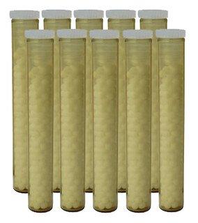Gläschen braun mit 1,3 g unarzneilichen Globuli Nr.3 - 10 Stk., Narayana Verlag