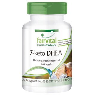 DHEA 7-Keto® 100 mg - 60 gélules/