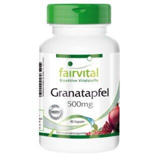 Granatapfel Extrakt 500 mg - 90 Kapseln/