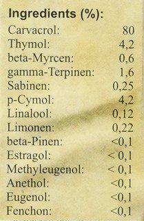 Athina Oregano Öl Bio - 10 ml