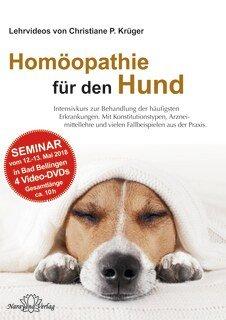 """Seminar """"Homöopathie für den Hund"""" mit Christiane P. Krüger - 4 DVDs/Christiane P. Krüger"""