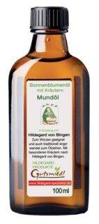 Mundöl mit Kräutern, Sonnenblumenöl - 100 ml/