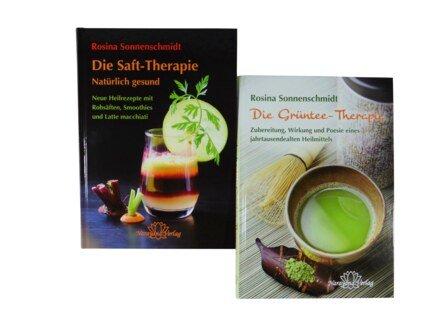 Set: Die Saft-Therapie & Die Grüntee-Therapie/Rosina Sonnenschmidt