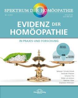 Spektrum der Homöopathie 2019-3, Evidenz der Homöopathie/Narayana Verlag