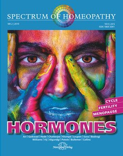Spectrum of Homeopathy 2019-2, HORMONES/Narayana Verlag