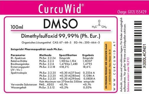 DMSO - Dimethylsulfoxid - 100 ml
