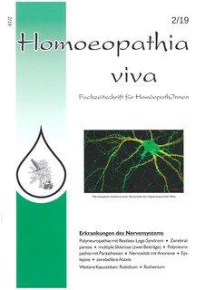Homoeopathia viva 2019-2 - Erkrankungen des Nervensystems/Zeitschrift