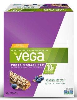 Vega® Protein Snack Bar Blueberry Oat - 12 x 45 g/