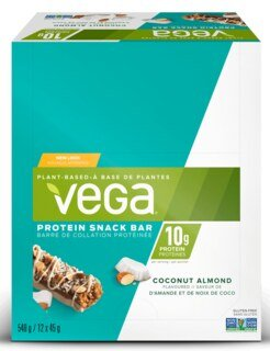 Vega® Protein Snack Bar Coconut Almond - 12 x 45 g/