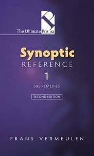 Synoptic Reference 1 - 505 Remedies, Frans Vermeulen