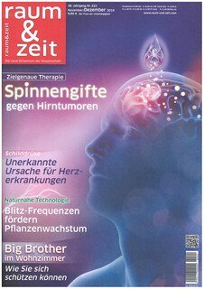 raum&zeit Ausgabe Nr. 222 - November/Dezember 2019/Zeitschrift