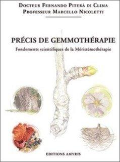 Précis de gemmothérapie/Fernando Clima
