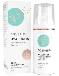 Hyaluron Performance Serum von Cosphera - Hochdosiert - 50 ml/