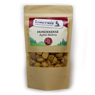 Schwarzwaldi Dog Biscuits Apple - Carrots - 150 g (treat)/