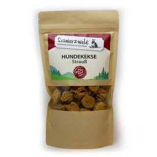 Schwarzwaldi Hundekeks mit Strauß - 150 g (Leckerli)/
