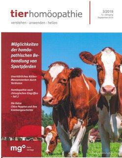 Tierhomöopathie Heft 2019/3/Zeitschrift