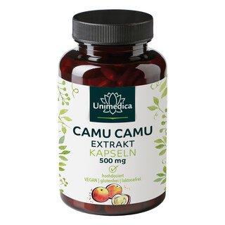 Camu camu extract capsules - high-dose - 120 capsules - from Unimedica/
