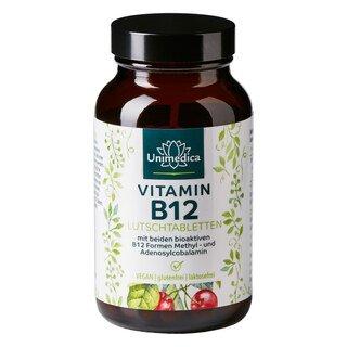 Vitamin B12 - 100 Lutschtabletten - von Unimedica/