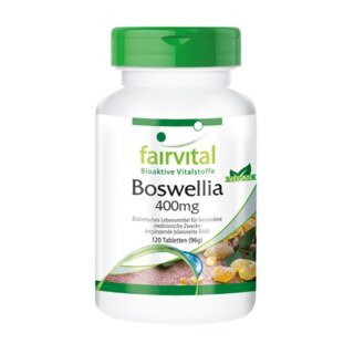 Boswellia Weihrauch 400 mg - 120 Tabletten/