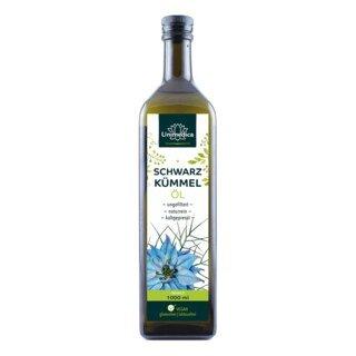 : Schwarzkümmelöl ungefiltert - 1000 ml - von Unimedica