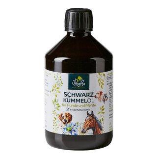 Schwarzkümmelöl für Hunde - 500 ml - von Unimedica/