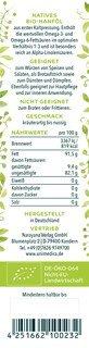 Bio Hanföl - 250 ml - von Unimedica