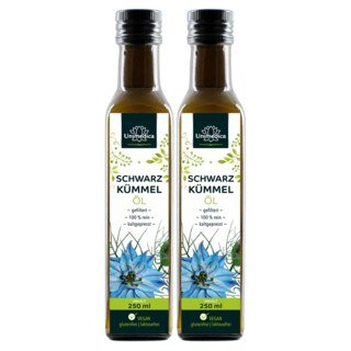 Schwarzkümmelöl gefiltert - 250 ml - von Unimedica - 2 x 250 ml/