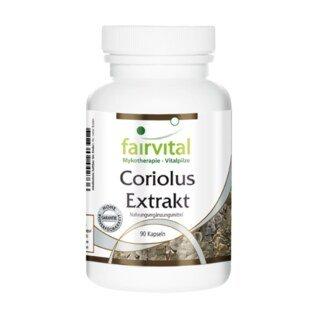 Coriolus Extrakt - 90 Kapseln/