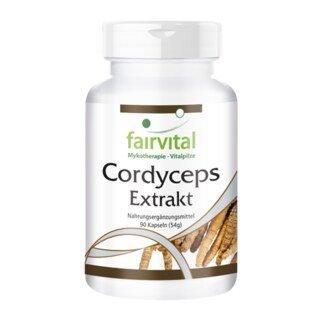 Cordyceps Extrakt - 90 Kapseln/