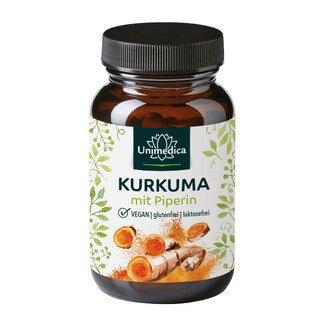 Curcuma et pipérine - 90 gélules- Unimedica/