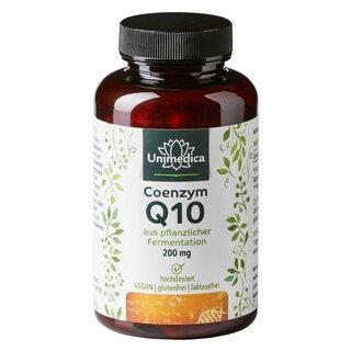 Coenzym Q10 - 200 mg - 120 Kapseln - von Unimedica/
