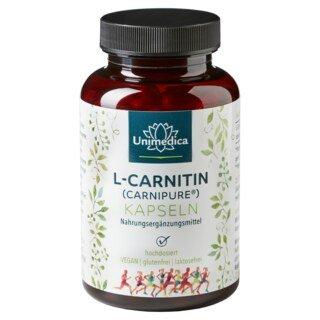 L-carnitine (Carnipure®) - 740 mg  - 120 gélules  par Unimedica/