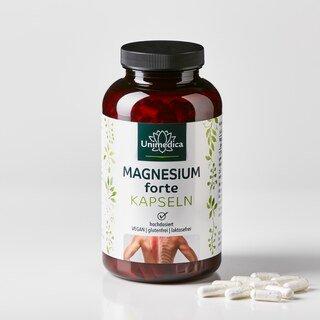 Magnesium forte - 667 mg - 365 Kapseln - von Unimedica