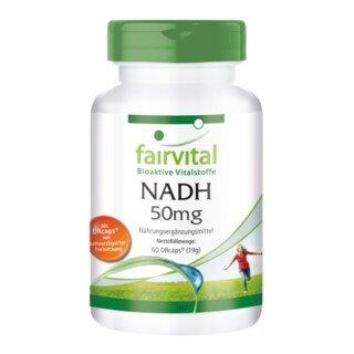 NADH 50 mg - Fairvital - 60 capsules/