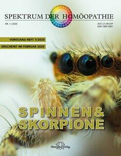 Spektrum der Homöopathie 2020-,1 Spinnen und Skorpione - E-Book/Narayana Verlag