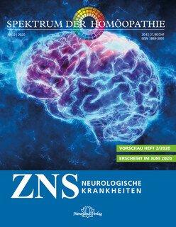Spektrum der Homöopathie 2020-2, ZNS - Neurologische Krankheiten - E-Book/Narayana Verlag