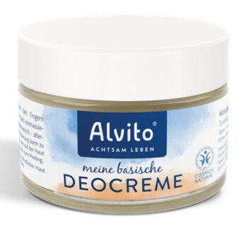 Alkaline Deodorant Cream - 50 ml/