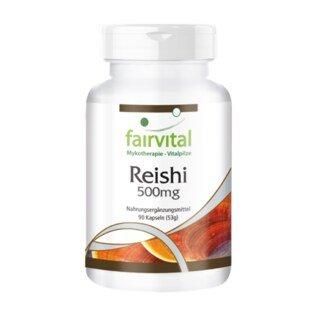 Reishi 500 mg  - 90 Kapseln/