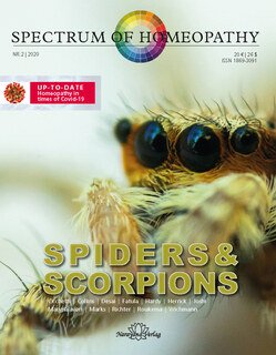 Spectrum of Homeopathy 2020-2, Spiders and Scorpions/Narayana Verlag